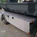 Busser og lastbiler lakering i Polen Stettin