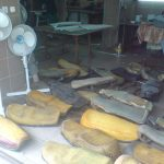 Ombætrekning af mc sadler i Polen Stettin